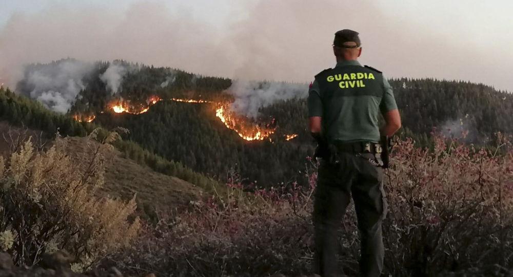 西班牙森林火灾疏散400多人