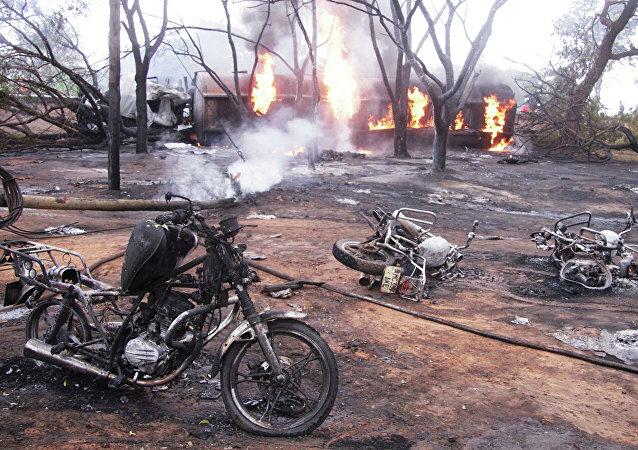 媒體:坦桑尼亞油罐車翻車起火事件死亡人數升至95人