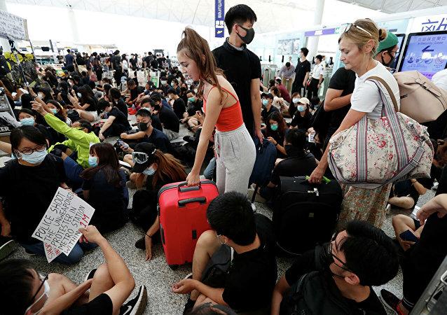 香港,示威者