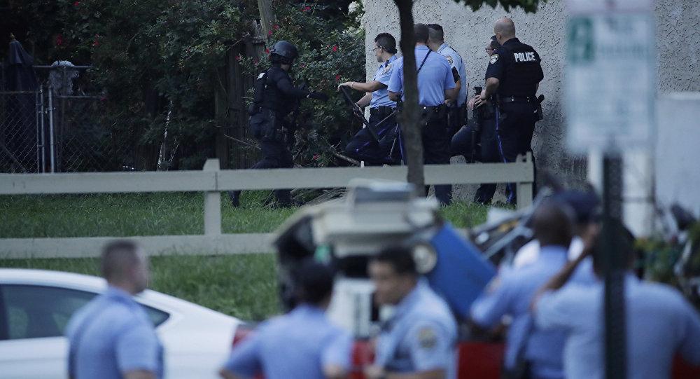 費城槍擊事件造成兩死四傷