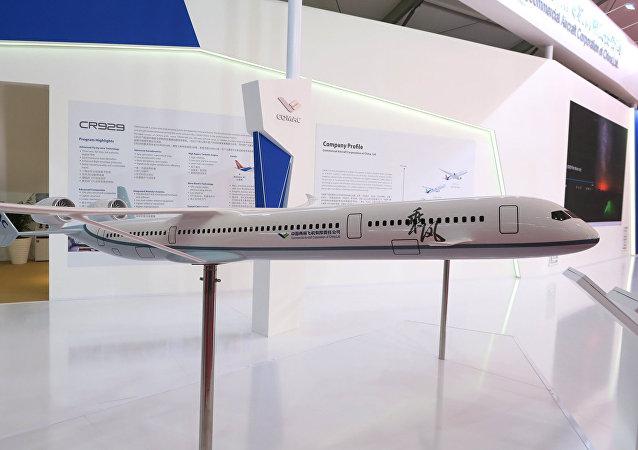 俄中CR929宽体客机最早或于2025年开始交付