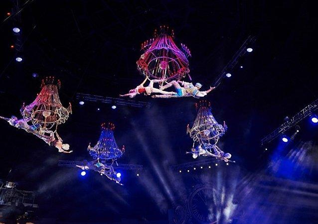 俄罗斯演员将参加第六届中国国际马戏节
