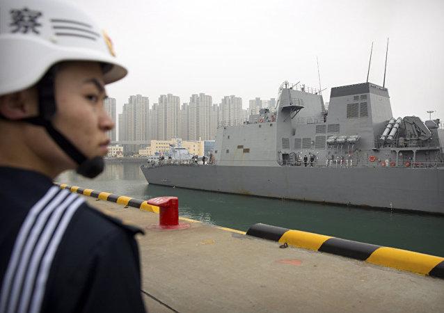中國欲抑制美國海上野心