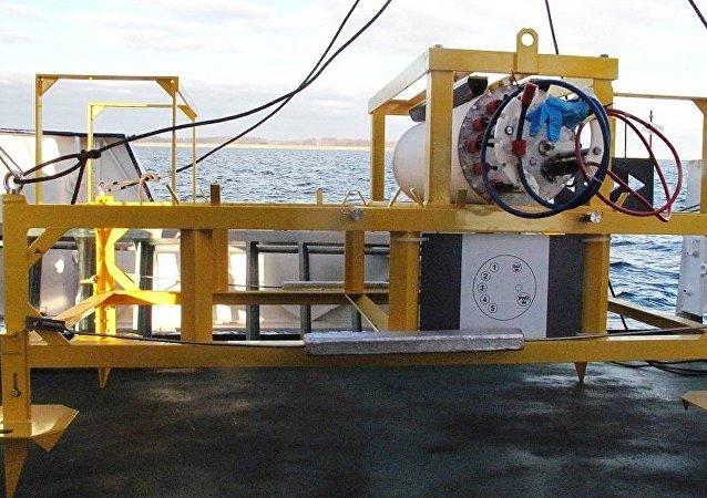 德國水下觀測站從波羅的海水底消失
