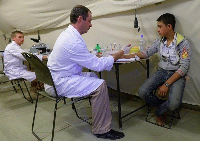 俄國防部長談俄軍醫在敘利亞的工作