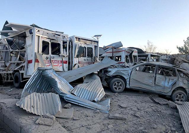 阿富汗北部发生汽车爆炸 致3人死亡约40人受伤