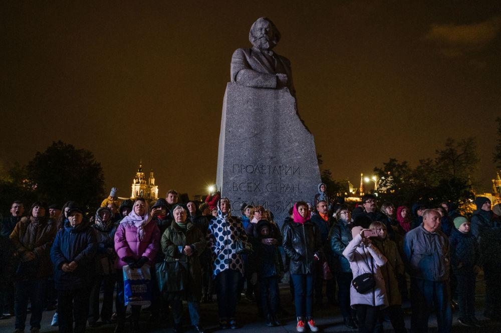 """莫斯科""""光环""""艺术节"""