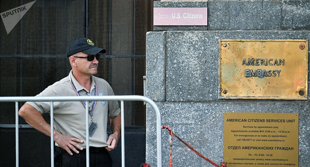 美驻俄大使馆一名前雇员被控阴谋窃取文件