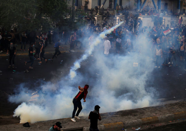 伊拉克抗議活動造成死亡人數增加至65人