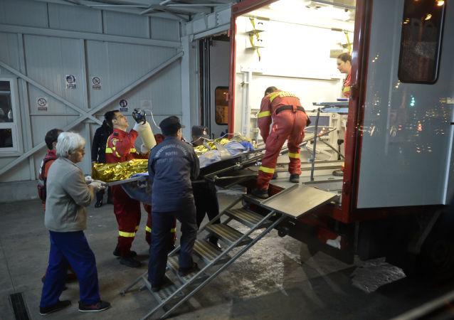罗马尼亚货车与小巴相撞造成10死7伤