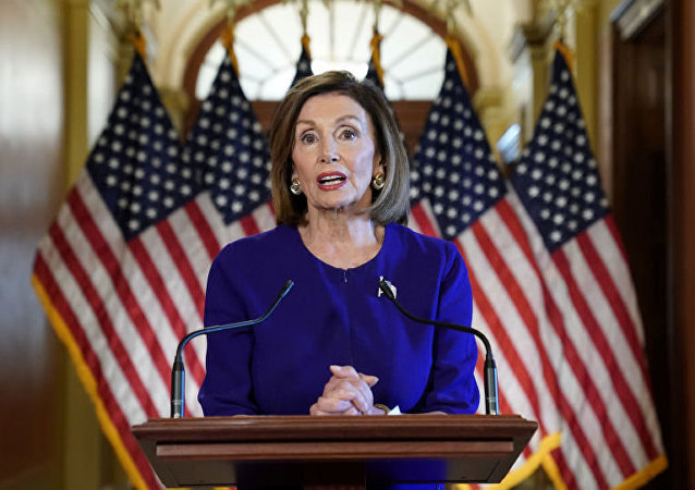 Спикер палаты представителей конгресса США Нэнси Пелоси