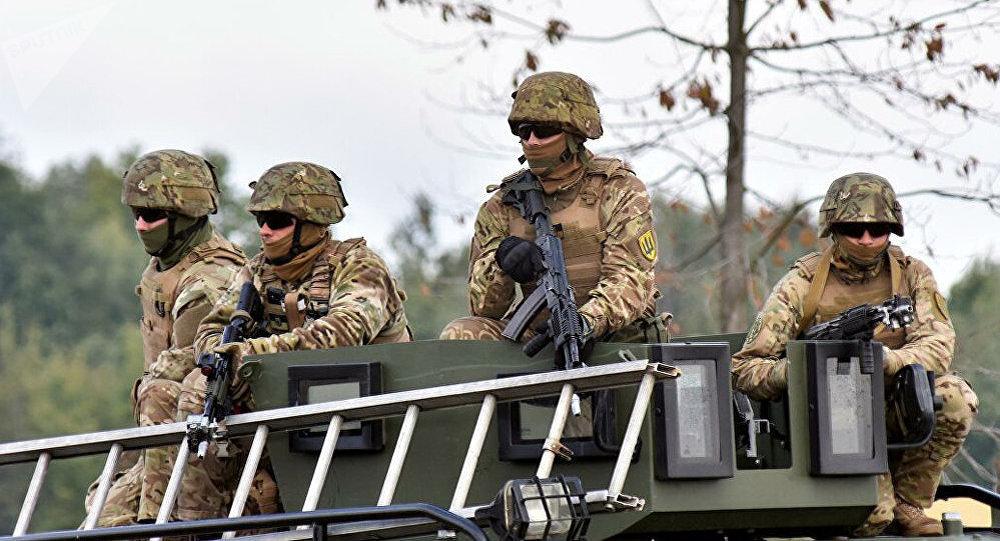 乌克兰向俄罗斯边境调派军队