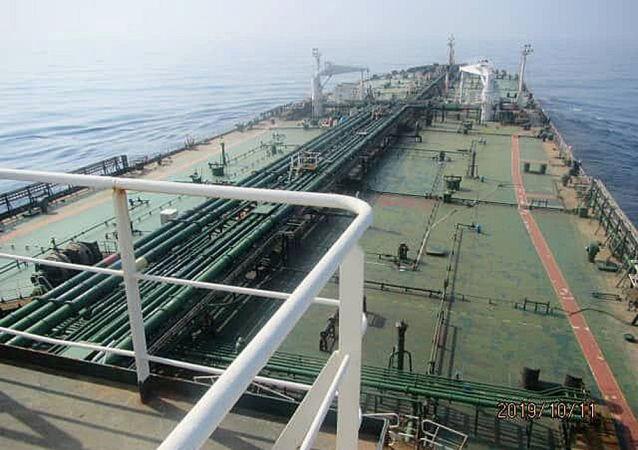 媒體:1月在印尼水域被扣的伊朗油輪獲釋