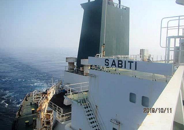 伊朗「沙比地」號油輪