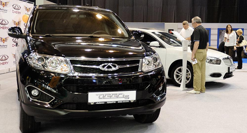 奇瑞汽車11月在俄銷量同比翻一番