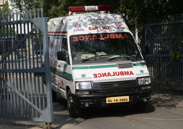 印度馬哈拉施特拉邦賴加德縣山體滑坡導致30多人死亡