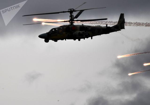 """Ka-52""""短吻鳄"""""""
