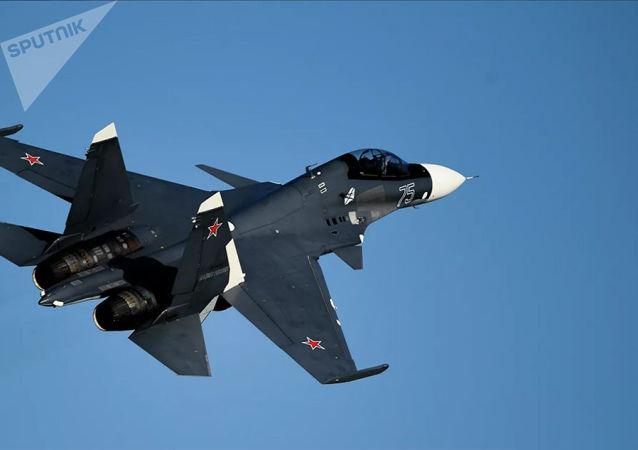 苏-30SM战斗机