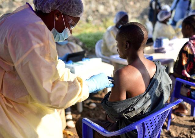 埃博拉疫苗接种(刚果)