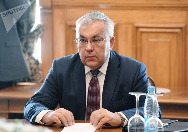 俄罗斯外交部副部长韦尔希宁