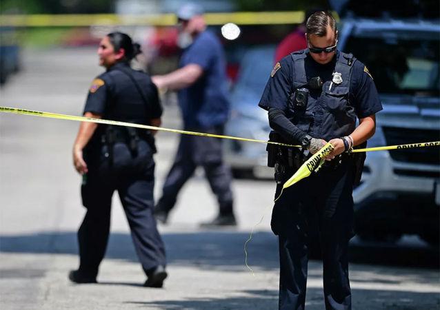 美国加利福尼亚警察