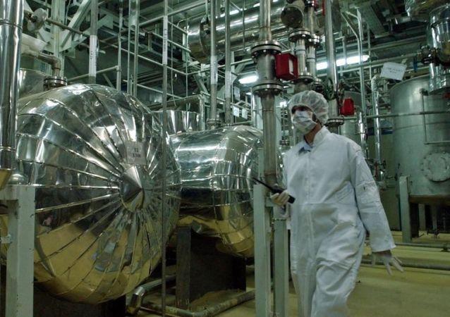 伊朗宣佈生產出約108公斤濃度20%的濃縮鈾