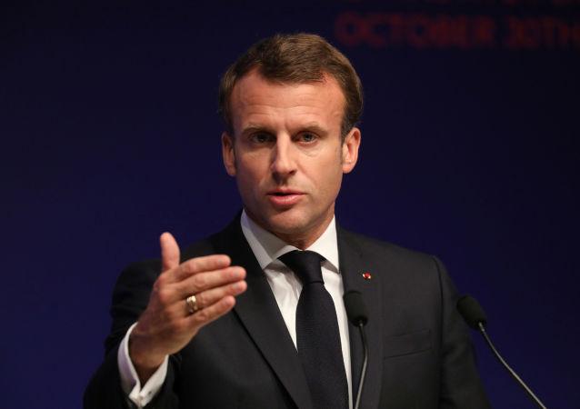 法國總統馬卡龍