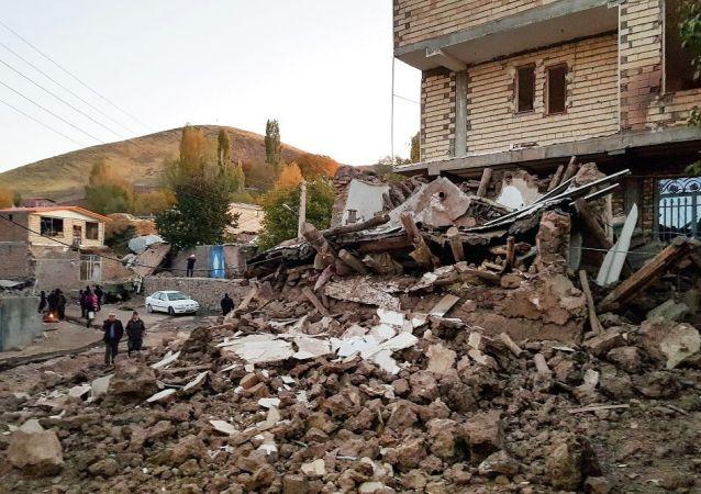 伊朗地震(資料圖片)