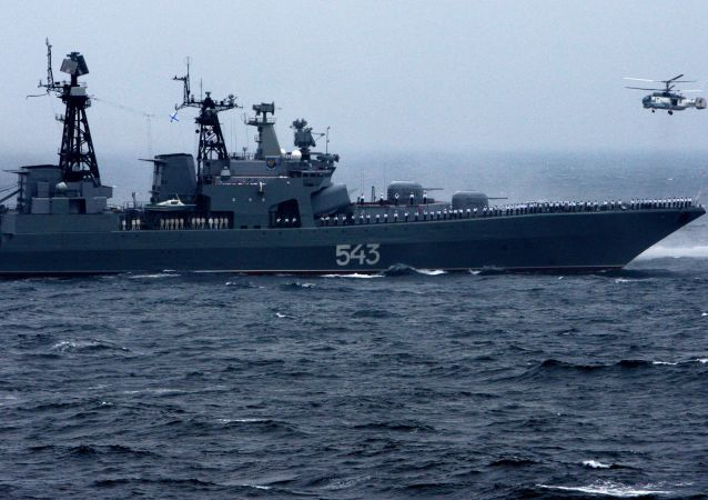 """中俄""""海上联合-2021""""联合军事演习开幕"""