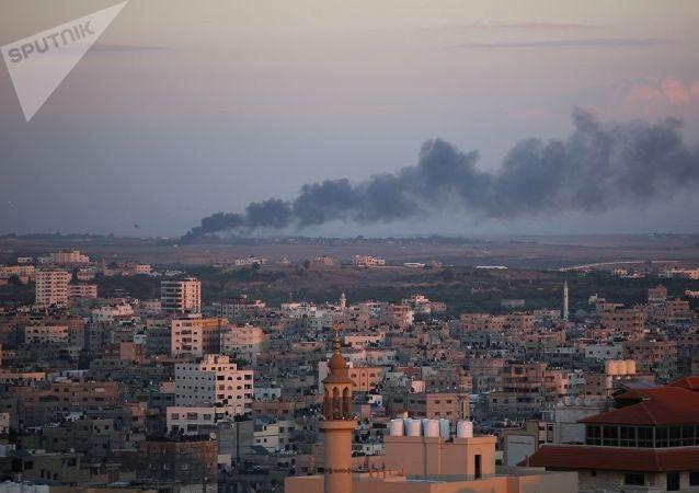 在东耶路撒冷冲突期间受伤的巴勒斯坦人数量增至22名