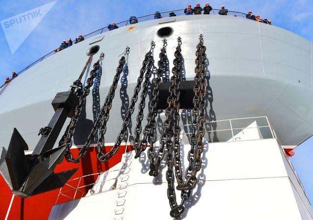 阿俄两国正讨论联合建造一艘冰级船