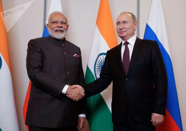 普京和莫迪确认有望于年底在印度召开双边峰会