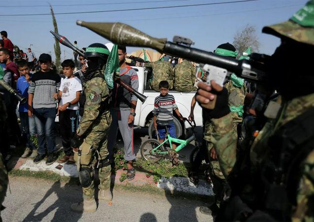 哈馬斯卡薩姆旅稱襲擊以色列一化工廠