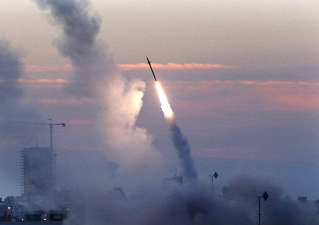 """以色列""""铁穹""""导弹防御系统"""