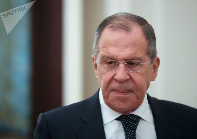 俄外长谈WADA建议:有人企图将俄罗斯推到被告席上