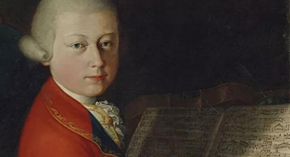 莫扎特少年時代的罕見肖像以400萬歐元拍出