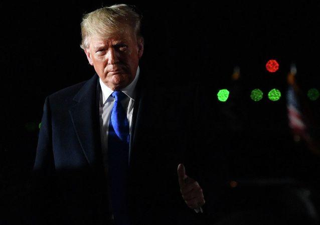 特朗普表示美国和俄罗斯一样希望能够签订军控协议