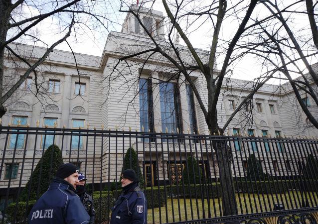 德国外交部宣布两名俄罗斯外交官不受欢迎