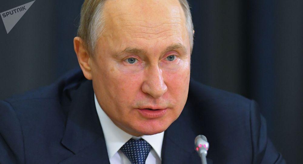 普京评论国际反兴奋剂机构剥夺俄罗斯权利的决定