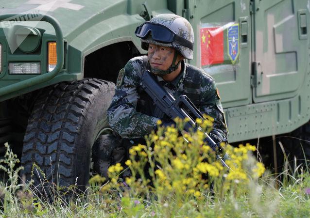 """中方参加""""和平使命-2021""""反恐军演部队铁运第一梯队抵达奥伦堡"""