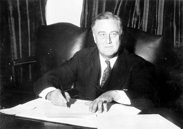 罗斯福总统(1933年)