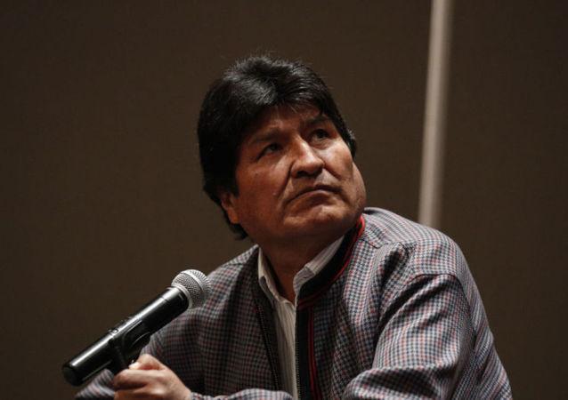 玻利維亞前總統埃沃∙莫拉萊斯