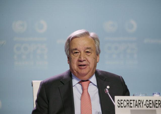 联合国秘书长称计划在联大高级别会议周与俄外长举行会谈