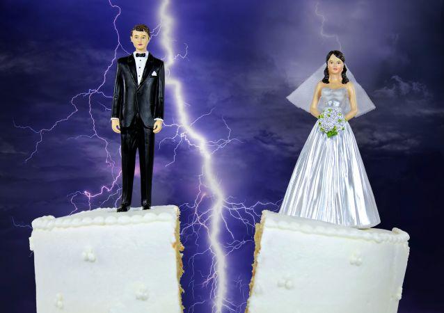 外媒:中國離婚率上升是對其它世界的警告