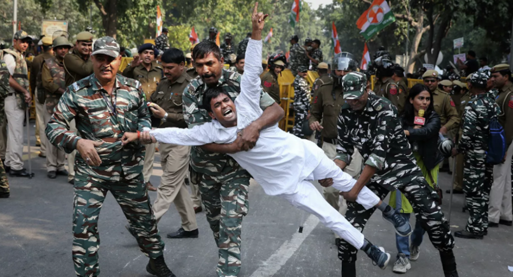 印度36所大专院校的学生罢课抗议《公民身份法案》