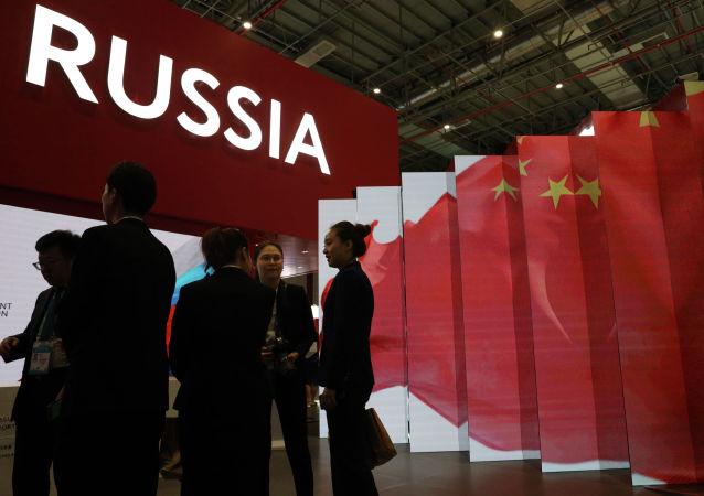 今年大约有10家俄罗斯企业参加上海进博会