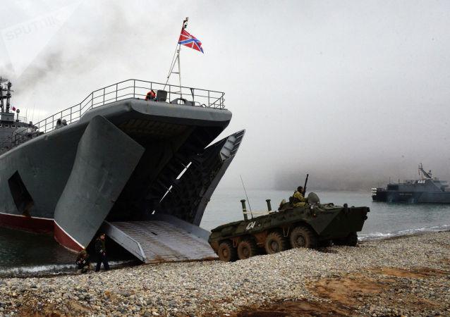 俄印海軍完成「Indra Navy-2020」軍演