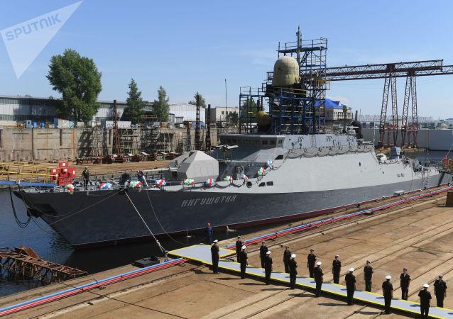 配備有中國發動機的俄小型導彈艦完成試驗 將交付黑海艦隊
