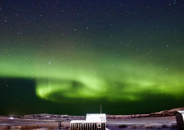 不出家门就可以实时看到北极光