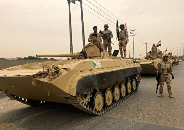 伊拉克軍隊 資料圖